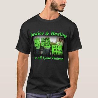Justice et guérison pour tous les patients de Lyme T-shirt