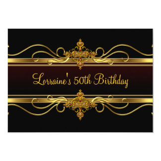 Juweel vijftigste van de Partij van de verjaardag Kaart