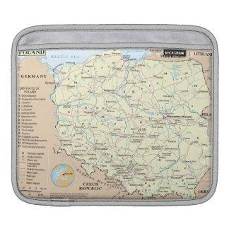 Kaart van het Sleeve van de Riksja van Polen iPad