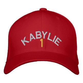 Kabylie numéro un casquette brodée