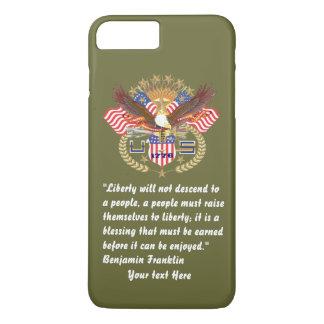 Kaki patriotique de forêt de paix coque iPhone 7 plus