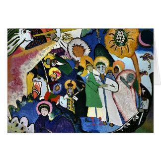 Kandinsky - tous les saints I Carte