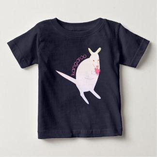 Kangourou blanc -- Chemise de filles T-shirt Pour Bébé