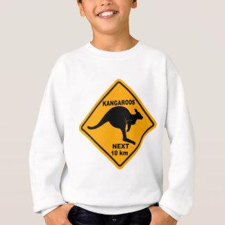 Kangourous 10 prochains kilomètres sweatshirt