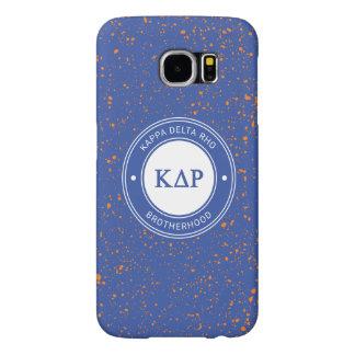 Kappa DeltaRho | Kenteken Samsung Galaxy S6 Hoesje