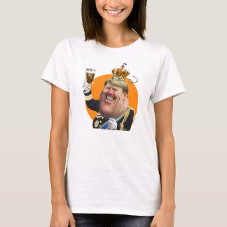 Karikatuur Willem-Alexander dames t-shirt