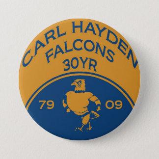 Karl Hayden 1 bouton Badge Rond 7,6 Cm