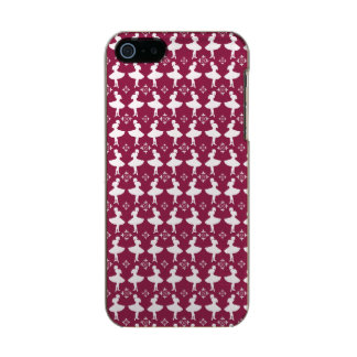 Kastanjebruine Ballarinas Incipio Feather® Shine iPhone 5 Hoesje
