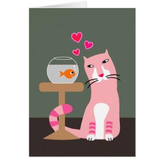 Kat & Goudvis Valentijn Briefkaarten 0