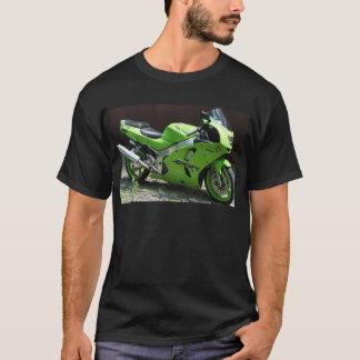 Kawasaki Ninja vert ZX-6R Motocycle, vélo de rue T-shirt