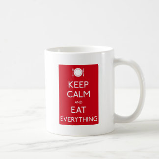 Keep Calm and Eat Mug