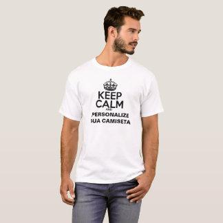 KEEP CALM AND FASSE UN T-SHIRT AVEC SON VISAGE