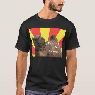 Keep calm et voit camel t-shirt