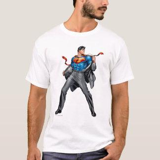 Kent change en Superman T-shirt