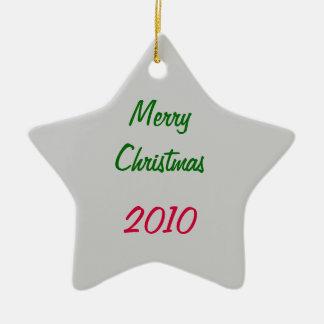 Kerstmis Keramisch Ster Ornament