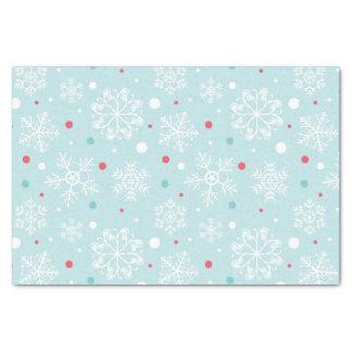 Kerstmis van de sneeuwvlok tissuepapier