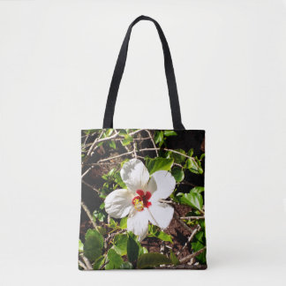 Ketmie blanche tote bag