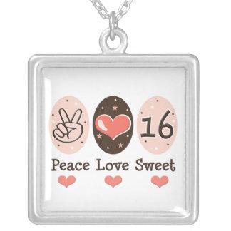 Ketting 16 van de Liefde van de vrede Zoet