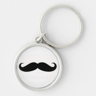 keychain de moustache porte-clés