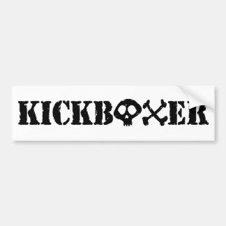 Kickboxer Autocollant De Voiture