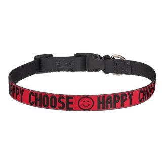 Kies Gelukkige Halsband Huisdier Halsbandje