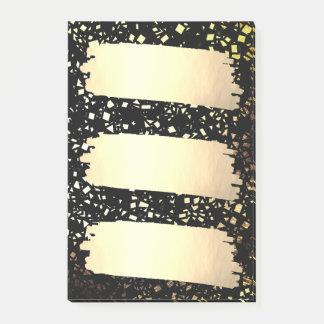Kijkt de Gouden Folie van Faux van confettien de Post-it® Notes