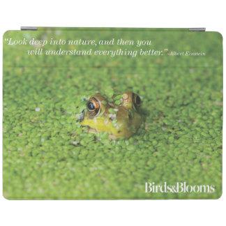 Kikker in Groene Algen iPad Cover