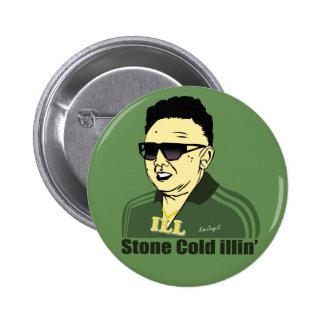 Kim Jung IL se boutonnent Badge Rond 5 Cm