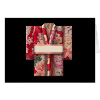 Kimono d'origami carte