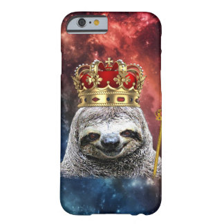 King sloth in space barely there iPhone 6 hoesje