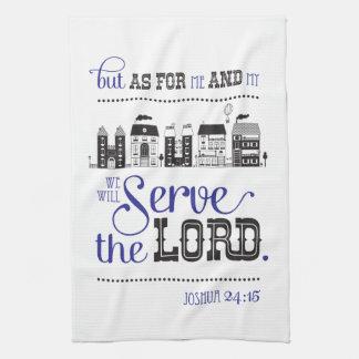 Kitchen Towel Bible frais Joshua le 24:15 Linge De Cuisine