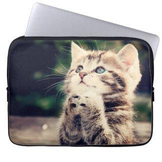 Kitty purraying housse pour ordinateur portable