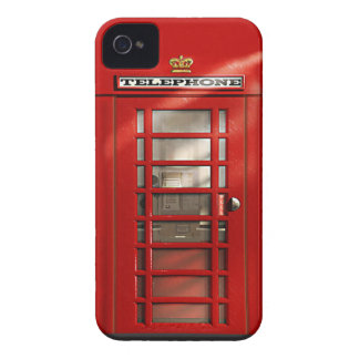 Klassieke Britse Rode iPhone 4 van de Telefooncel  iPhone 4 Hoesje