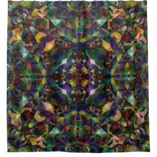 Kleurrijk, Caleidoscopisch Abstract Art. Gordijn 0