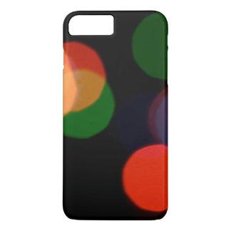 Kleurrijk onscherp dreamlike bokeh patroon iPhone 8 plus / 7 plus hoesje