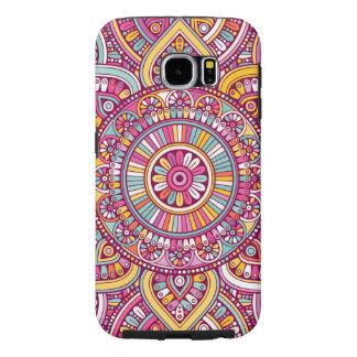 Kleurrijke Mandala Samsung Galaxy S6 Hoesje