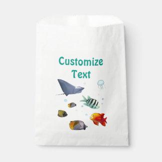 Kleurrijke Zeevissen Bedankzakjes 0