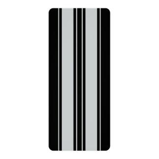 Klik aanpassen om Grijs in Uw Oogst van de Kleur 10,2x23,5 Uitnodiging Kaart