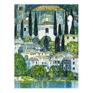 Klimt - église dans Cassone Cartes Postales