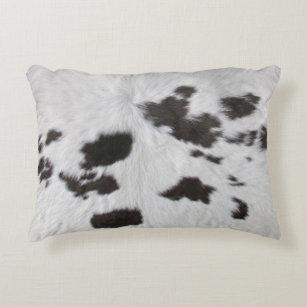 Aster koeienhuid kussen cm meerdere grijstinten made