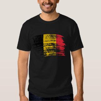 Koel Belgisch vlagontwerp Shirts
