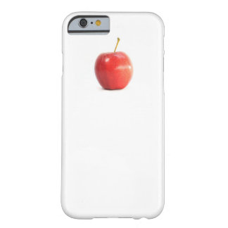 Koele grappige rode pictogramfoto barely there iPhone 6 hoesje