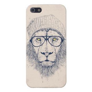 Koele leeuw iPhone 5 hoesje