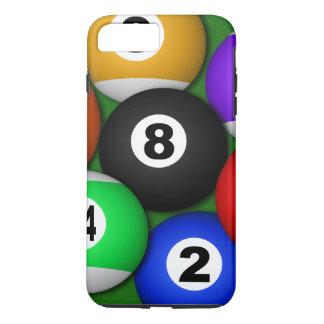 Koele Pret 8 Acht Duurzaam Biljart van de Ballen iPhone 8 Plus / 7 Plus Hoesje