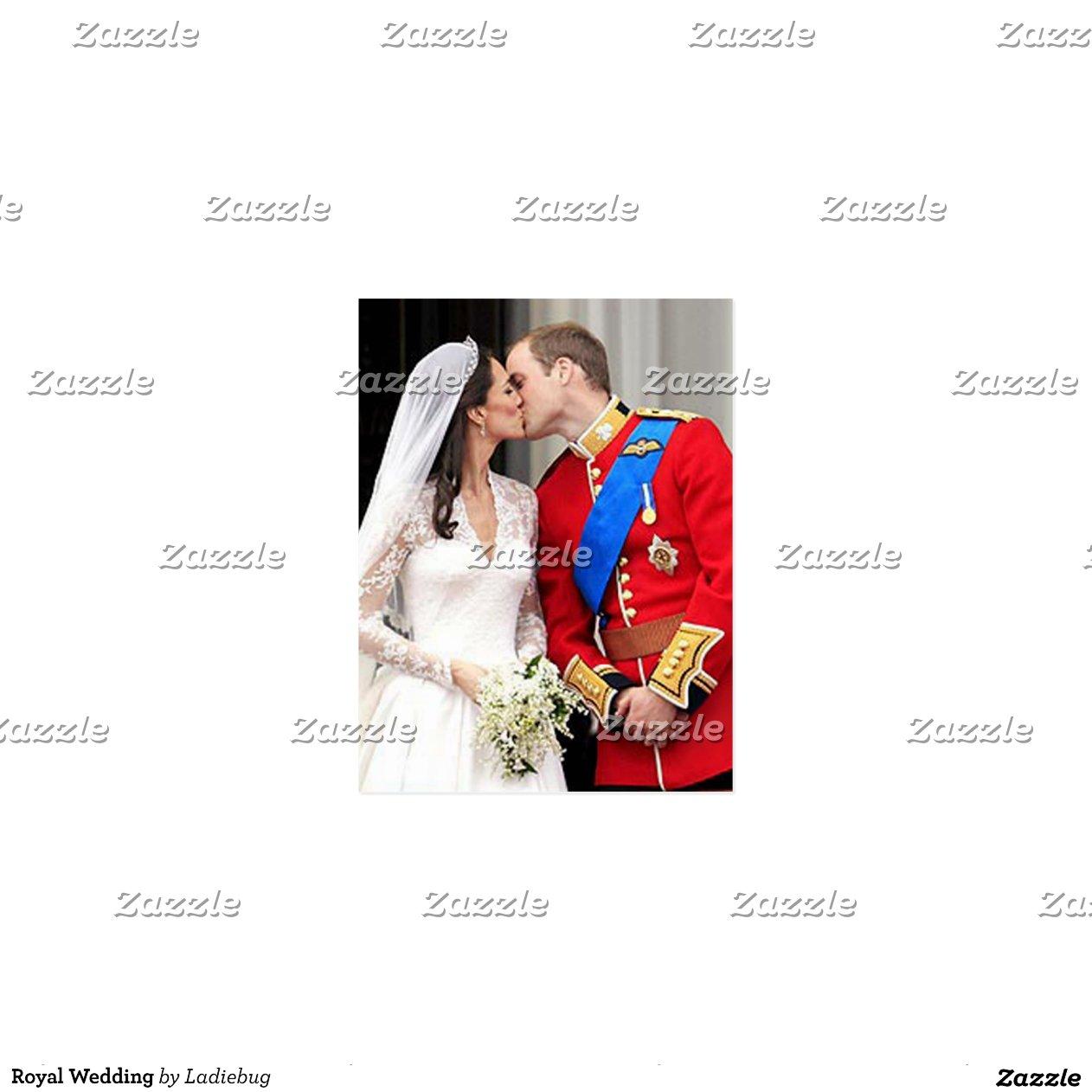Koninklijk huwelijk wens kaart zazzle