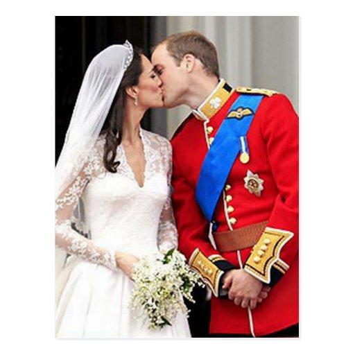 Koninklijk huwelijk wens kaart