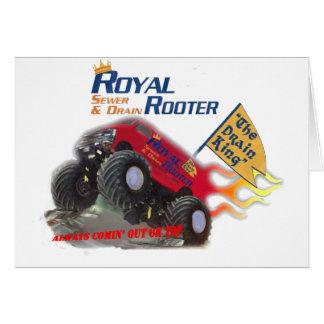 Koninklijke Rooter dankt u Kaarten