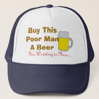 Koop Dit Slechte Man een Bier Zijn Huwelijk Trucker Pet