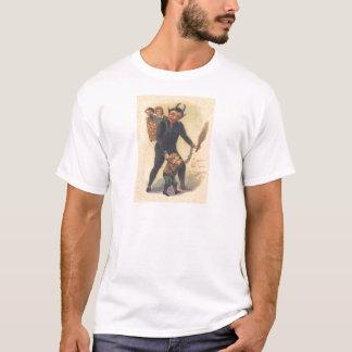 Krampus punissant le mauvais enfant t-shirt