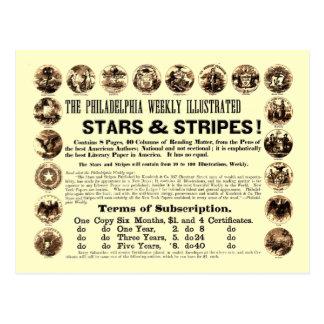 Krant van de Sterren & van de Strepen van Briefkaart